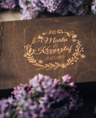 Memories closed in a personalized box